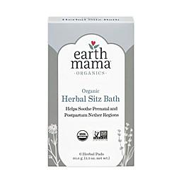 Earth Mama 6-Pack Organic Herbal Sitz Bath