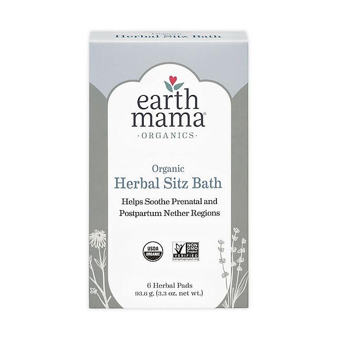 Alternate image 1 for Earth Mama 6-Pack Organic Herbal Sitz Bath
