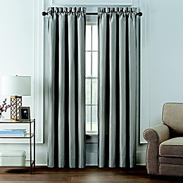Waterford® Andria 2-Pack 84-Inch Rod Pocket Room Darkening Window Curtain Panels in Taupe
