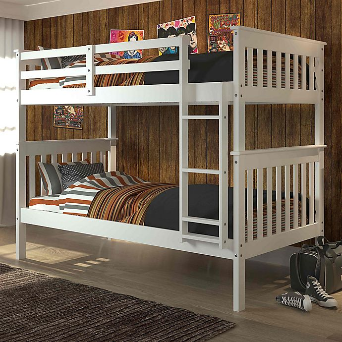 Alternate image 1 for Mission Twin Over Twin Bunk Bed