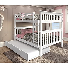 Mission Full Over Full Bunk Bed with Trundle