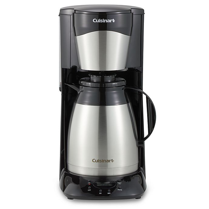 Cuisinart 12 Cup Stainless Steel Programmable Thermal Coffee Maker
