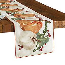 Fall Pumpkin Vine 72-Inch Table Runner