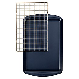 Wilton® Nonstick Diamond-Infused Cookie Sheet and Cooling Grid