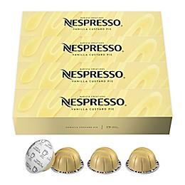 Nespresso® VertuoLine Barista Creations Vanillla Custard Pie Capsules 40-Count