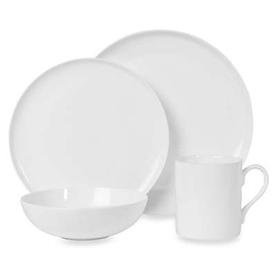 Nevaeh White® by Fitz and Floyd® Coupe Dinnerware Collection