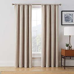 Brookstone® Harvey Rod Pocket Room Darkening Window Curtain Panel