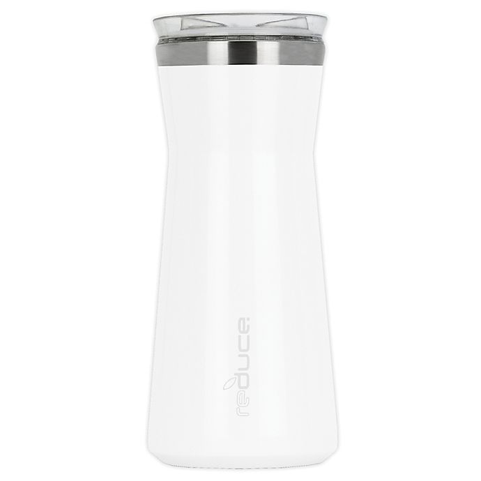 Alternate image 1 for Reduce® 34 oz. Insulated Beverage Carafe in White