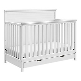 Storkcraft Homestead Crib with Drawer - White