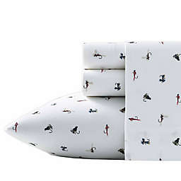 Fishing Flies Twin XL Sheet Set