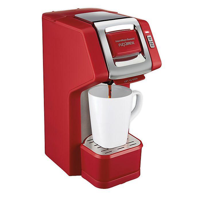 Alternate image 1 for Hamilton Beach FlexBrew® Single-Serve Coffee Maker in Red