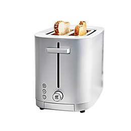 Zwilling J.A. Henckels Enfinigy 2-Slot Toaster in Grey/White