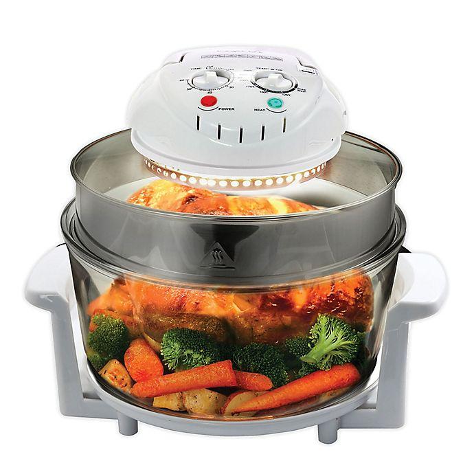 Alternate image 1 for MegaChef Countertop Halogen Oven Air Fryer/Rotisserie/Roaster