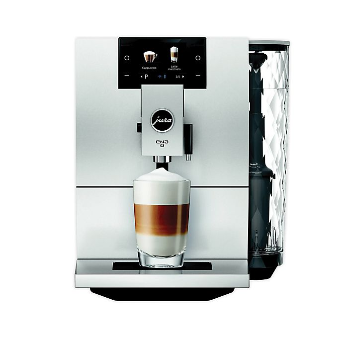 Alternate image 1 for Jura® ENA 8 Fully Automatic Coffee Machine in Black