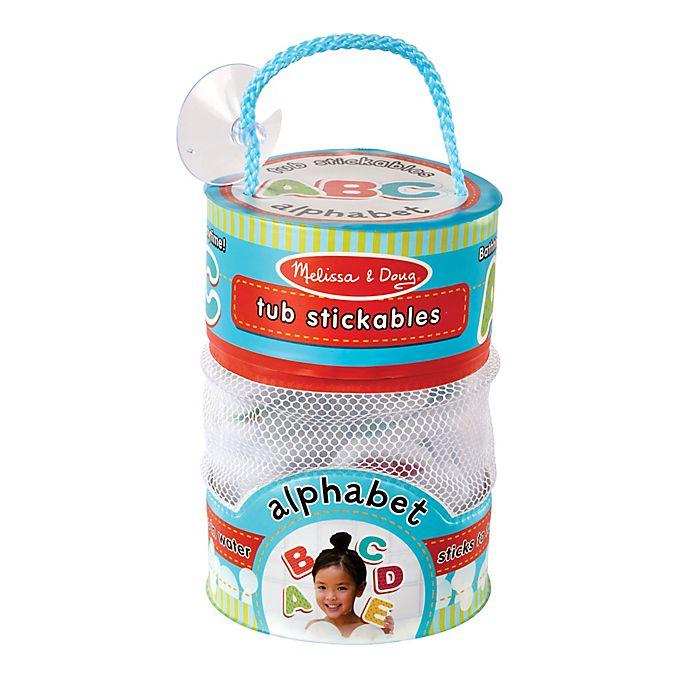 Alternate image 1 for Melissa and Doug® Alphabet Tub Stickables
