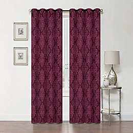 Delaney 84-Inch Grommet Blackout Window Curtain Panel