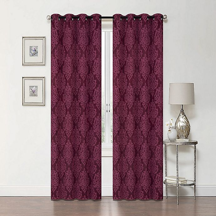 Alternate image 1 for Delaney 84-Inch Grommet Blackout Window Curtain Panel
