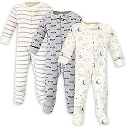 Touched by Nature® 3-Pack Mr Moon Organic Cotton Sleep 'N Plays
