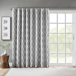 SunSmart Blakesly Grommet Blackout Printed Ikat Patio Curtain