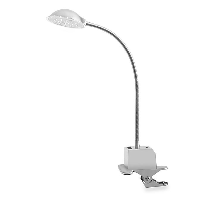 buy studio 3b led clip lamp with usb charger from bed. Black Bedroom Furniture Sets. Home Design Ideas
