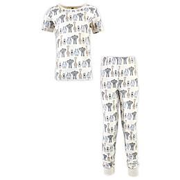 Hudson Baby® Size 6-Years 2-Piece Cotton Pajama Set