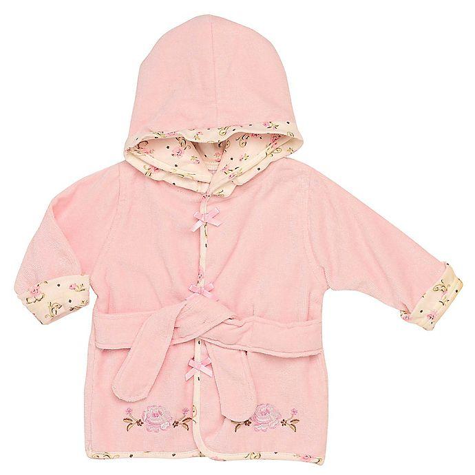 Alternate image 1 for Little Me® Vintage Rose Robe in Pink