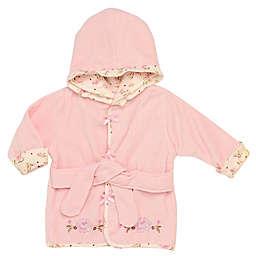Little Me® Vintage Rose Robe in Pink