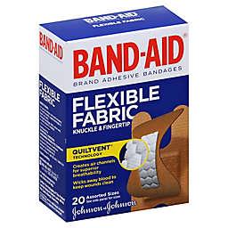 Johnson & Johnson® Band-Aid® 20-Count Flexible Fabric Assorted Adhesive Bandages