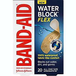 Johnson & Johnson® Band-Aid® 20-Count Waterblock® Flex Adhesive Bandages