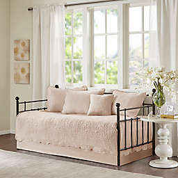 Madison Park Tuscany 6-Piece Reversible Scalloped Edge Daybed Cover Set