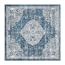 Bee & Willow™ Home Winchester 6'7 Square Area Rug in Navy