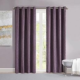 Madison Park Arcadia Grommet Crinkle Matte Satin Panel