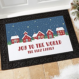 Nordic Noel Personalized Doormat Collection