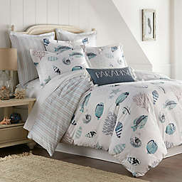 Coastal Life Eastlake 3-Piece Reversible Duvet Cover Set