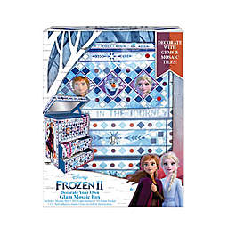 Disney® Frozen II Decorate Your Own Glam Mosaic Box