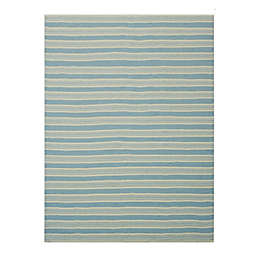 One Kings Lane Open House™ Shani 8' x 10' Area Rug in Light Blue/Ivory