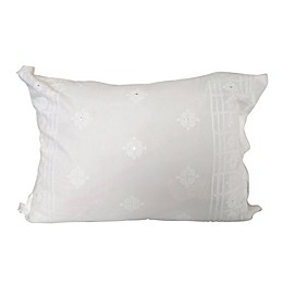 Global Caravan™ Cross Stitched Mirror Standard Pillow Sham