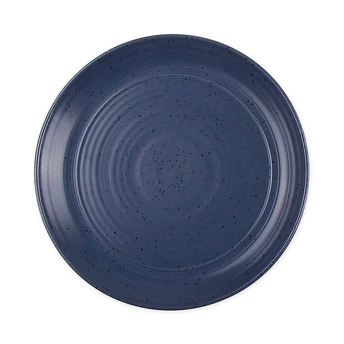 Alternate image 1 for Bee & Willow™ Home Milbrook Dinner Plates in Blue (Set of 4)
