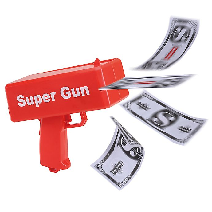 Alternate image 1 for Cash Cannon in Red