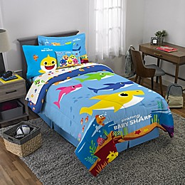 Baby Shark 3-Piece Twin/Full Comforter Set