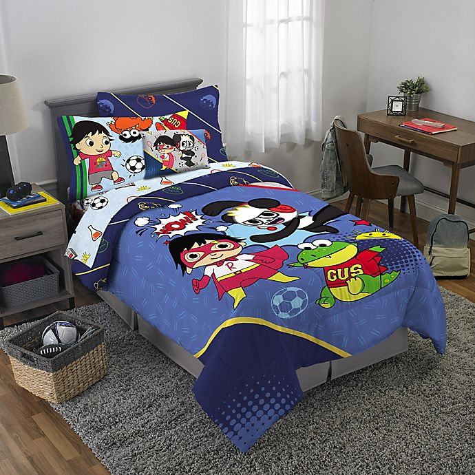 Alternate image 1 for Ryan's World 3-Piece Twin/Full Comforter Set