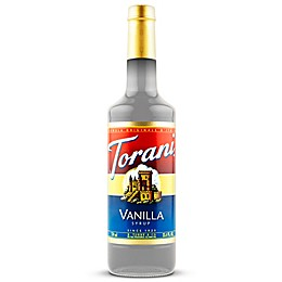 Torani 750 mL Vanilla Syrup