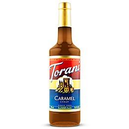 Torani 750 mL Classic Caramel Syrup