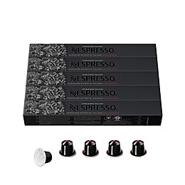 Nespresso OriginalLine Ispirazione Ristretto Decaffeinato Italiano Espresso Capsules 50-Count