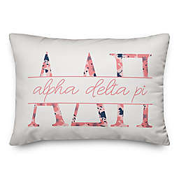 Designs Direct Sorority Oblong Throw Pillow Collection in Pink