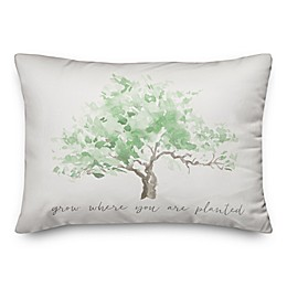 Grow Where Planted  14x20 Spun Poly Pillow