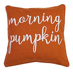 Thro by Marlo Firenz Marsha Morning Pumpkin Throw Pillow