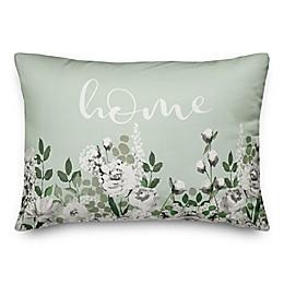 Home Florals 14x20 Spun Poly Pillow