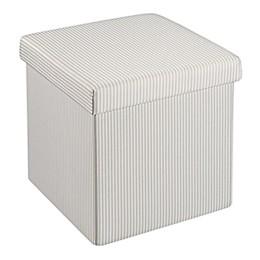 SALT™ 15-Inch Folding Storage Ottoman with Tray