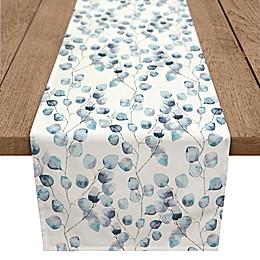 Degins Direct Blue Eucalyptus Poly Twill Table Runner